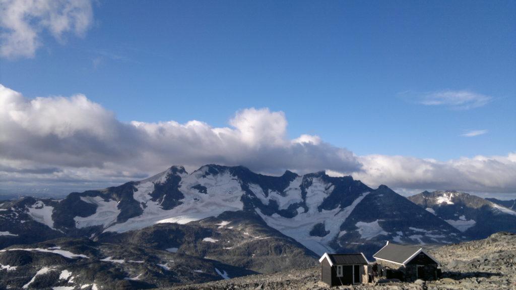 Utsikt fra toppen av Fnaråken