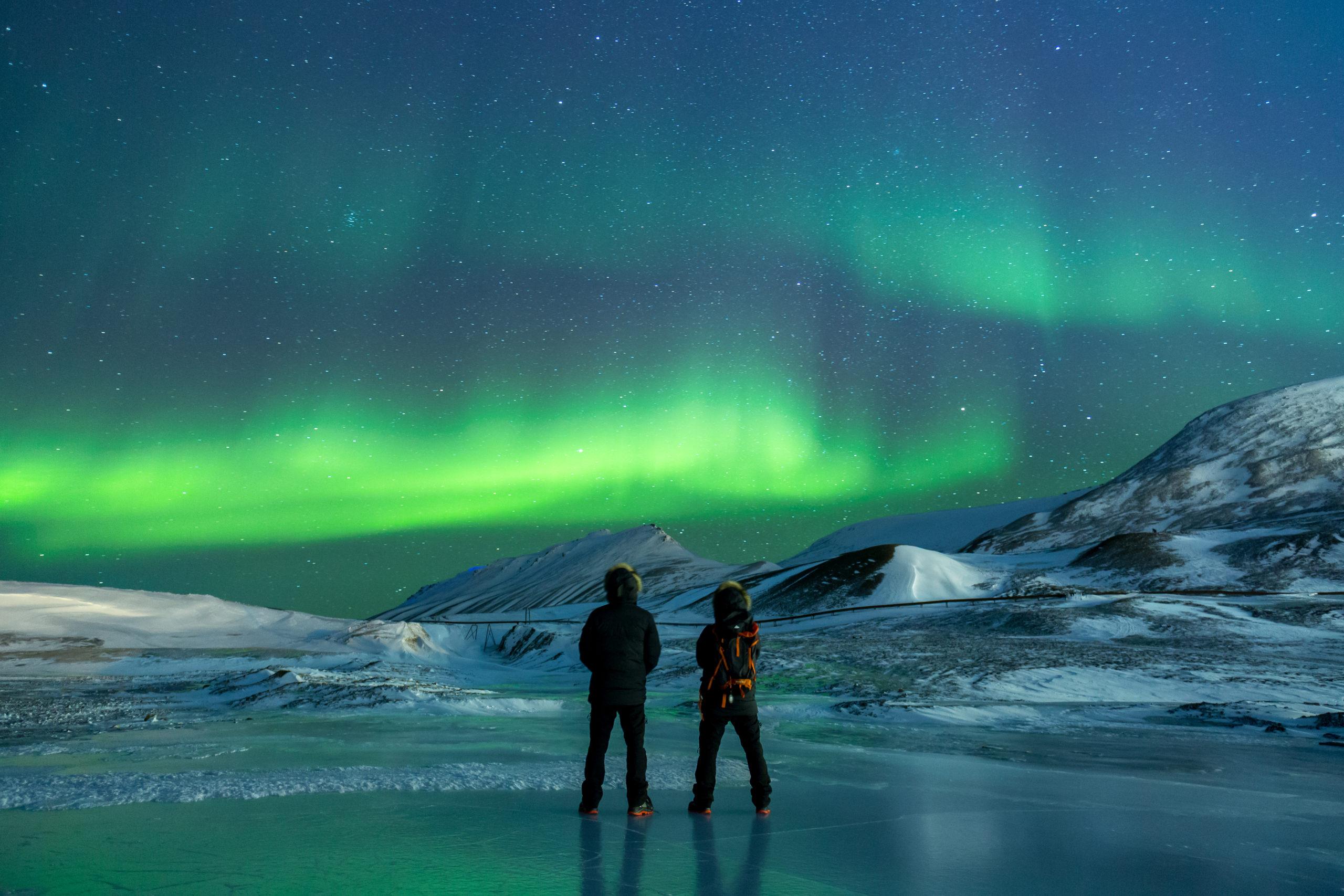 Nordlyseventyr på Svalbard