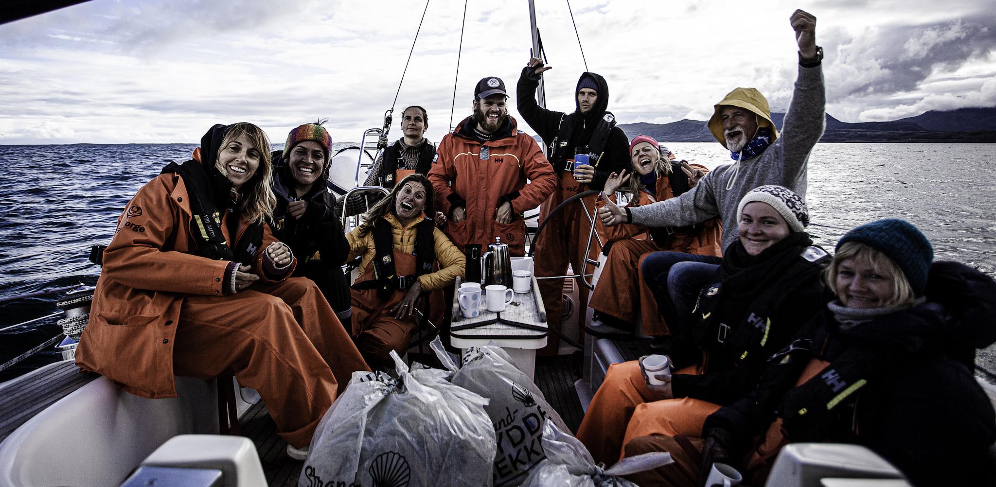 Seil TAVAHA – strandrydding på Helgeland